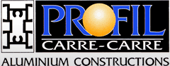 Profil Carre - Carre Aluminum Costructions